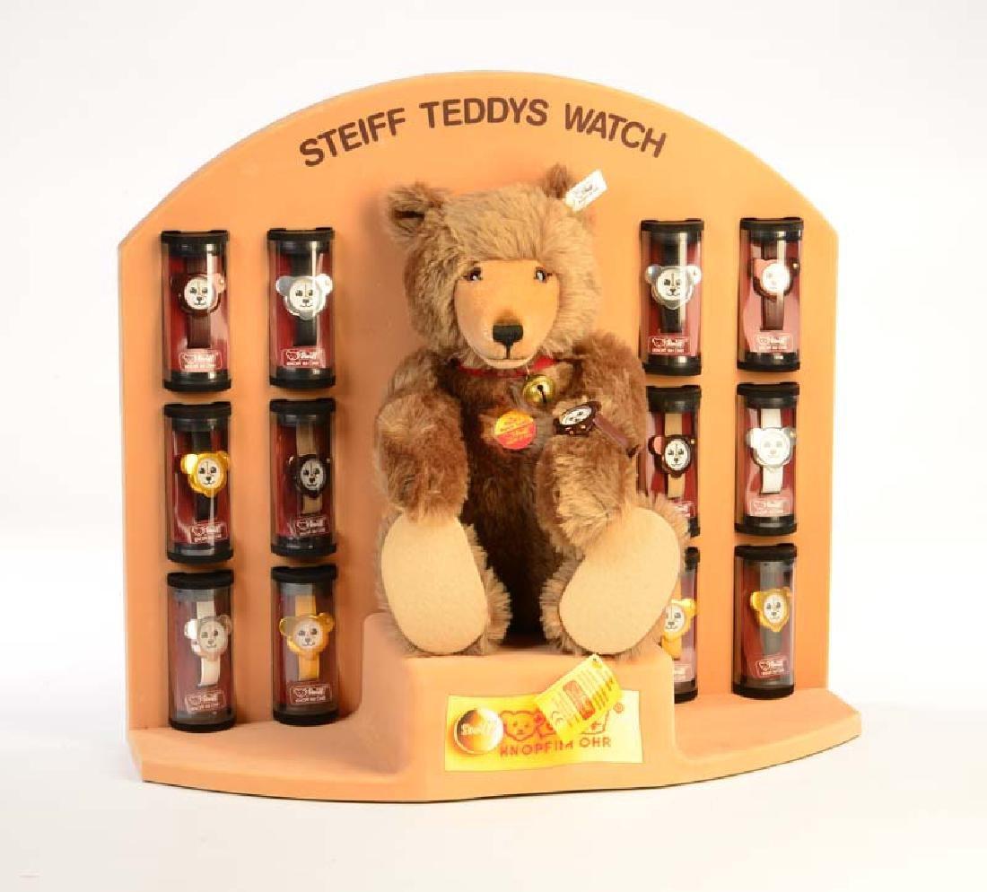 Steiff, Teddy Watch mit 13 Uhren