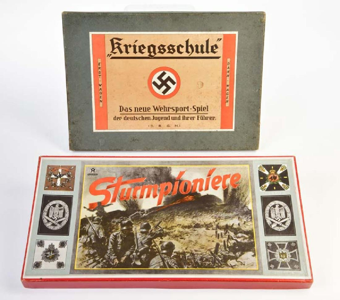 Hausser u.a., Spiele: Sturmpioniere + Kriegsschule