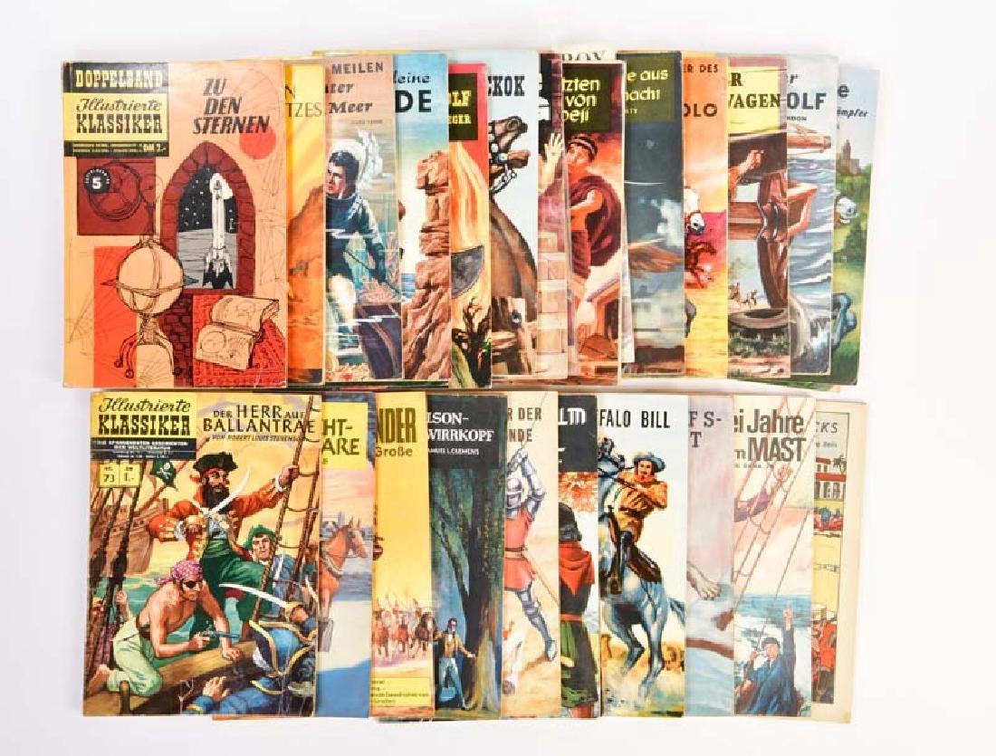 25x Illustrierte Klassiker + 2 Doppelbaende