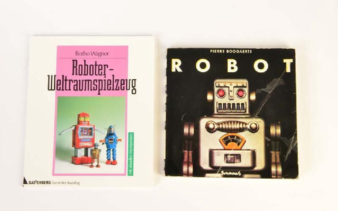 "2 Buecher, ""Robots"" + ""Roboter Weltraumspielzeug"""