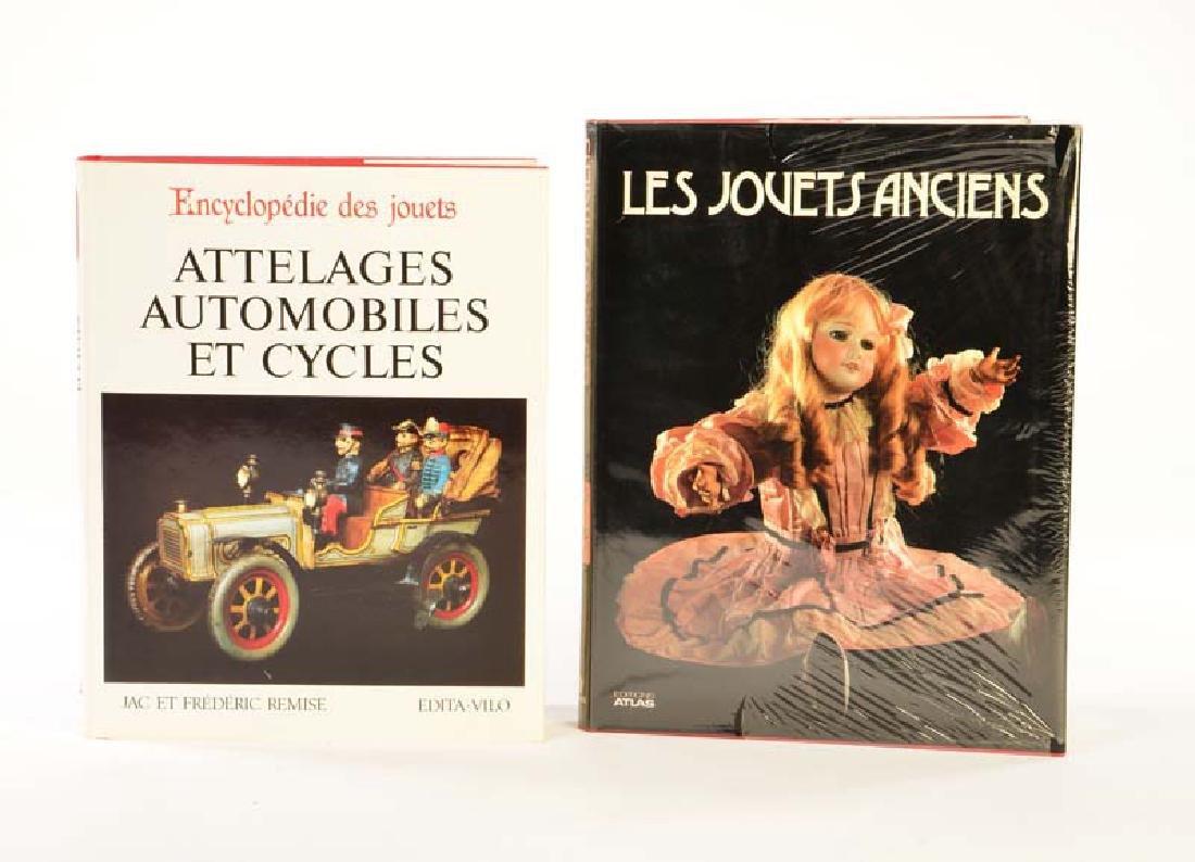 """2 Buecher, """"Les Jouets Anciens"""" + """"Encyclopedie des"""