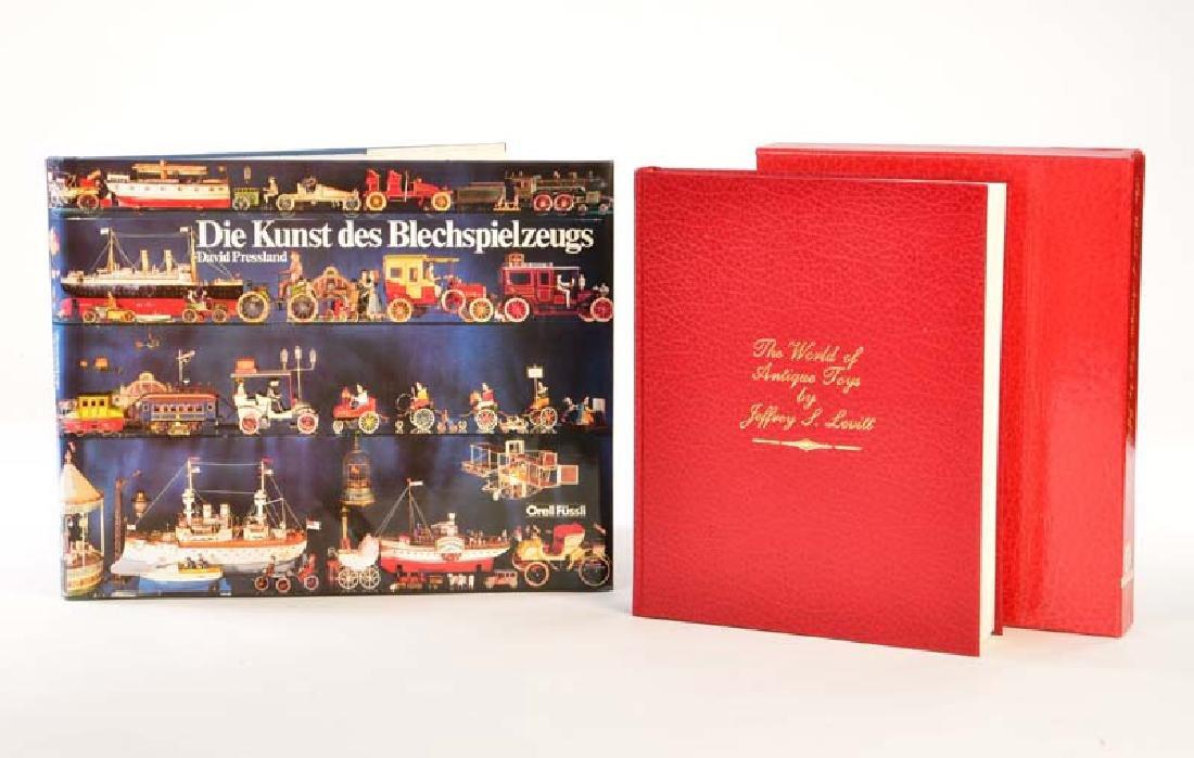 "2 Buecher, David Pressland ""Die Kunst des"