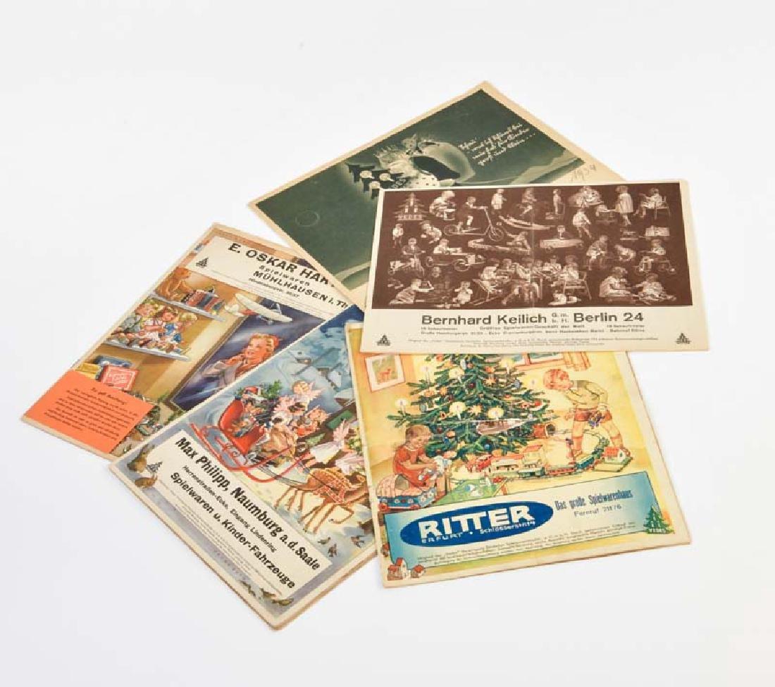 Vedes, 5 Spielzeugkataloge 30er Jahre