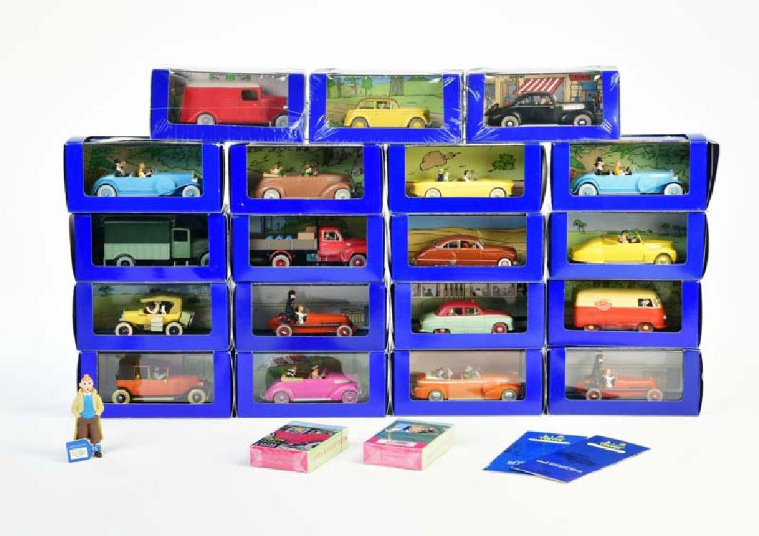 Edition Atlas, 19x Tin Tin (Tim & Struppi) Fahrzeuge,
