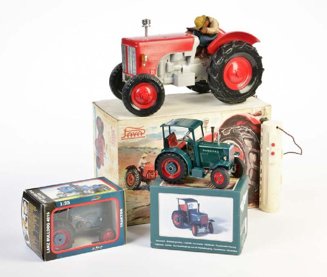Paya, Kovap, 3 Traktoren