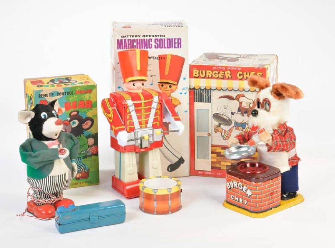 Alps u.a., 3 Battery Operated Toys