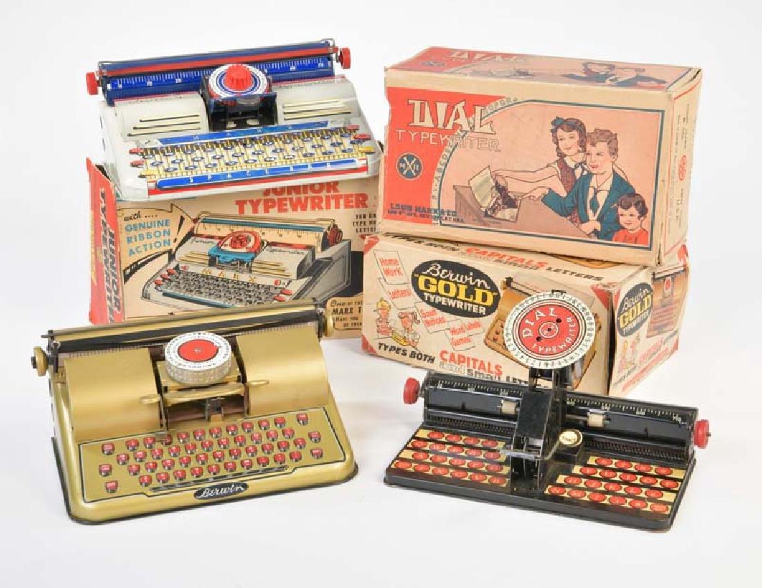 Marx, 3 Schreibmaschinen