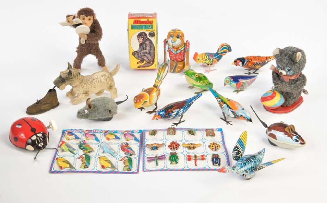Koehler u.a., Konvolut Spielzeug