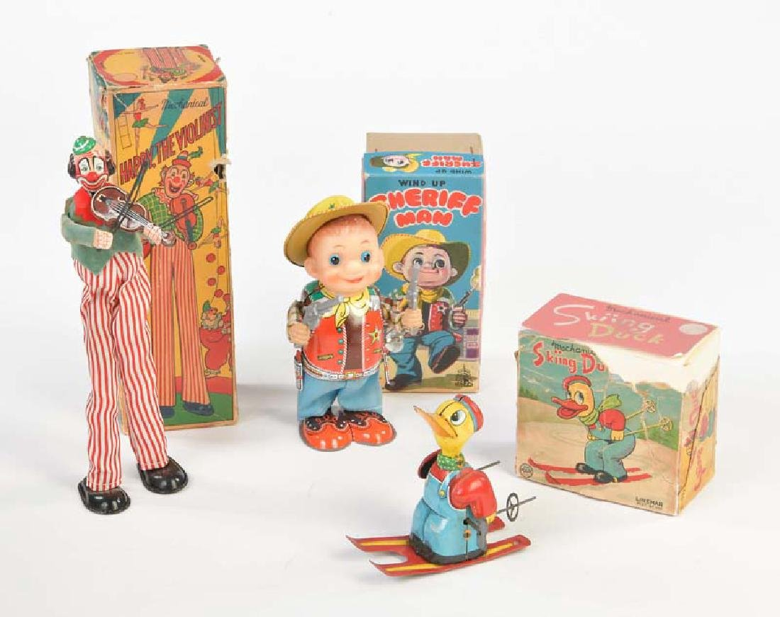 Linemar u.a., 3 Wind Up Toys