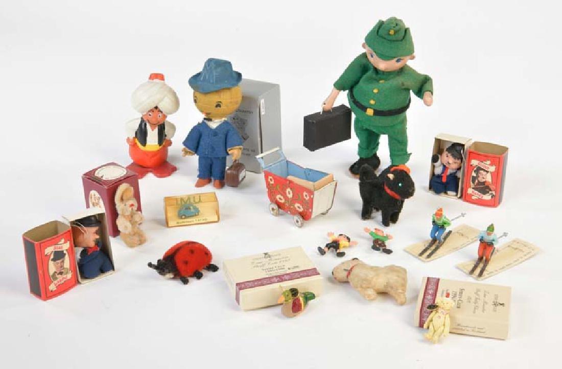 Steiff u.a., Konvolut Spielzeug