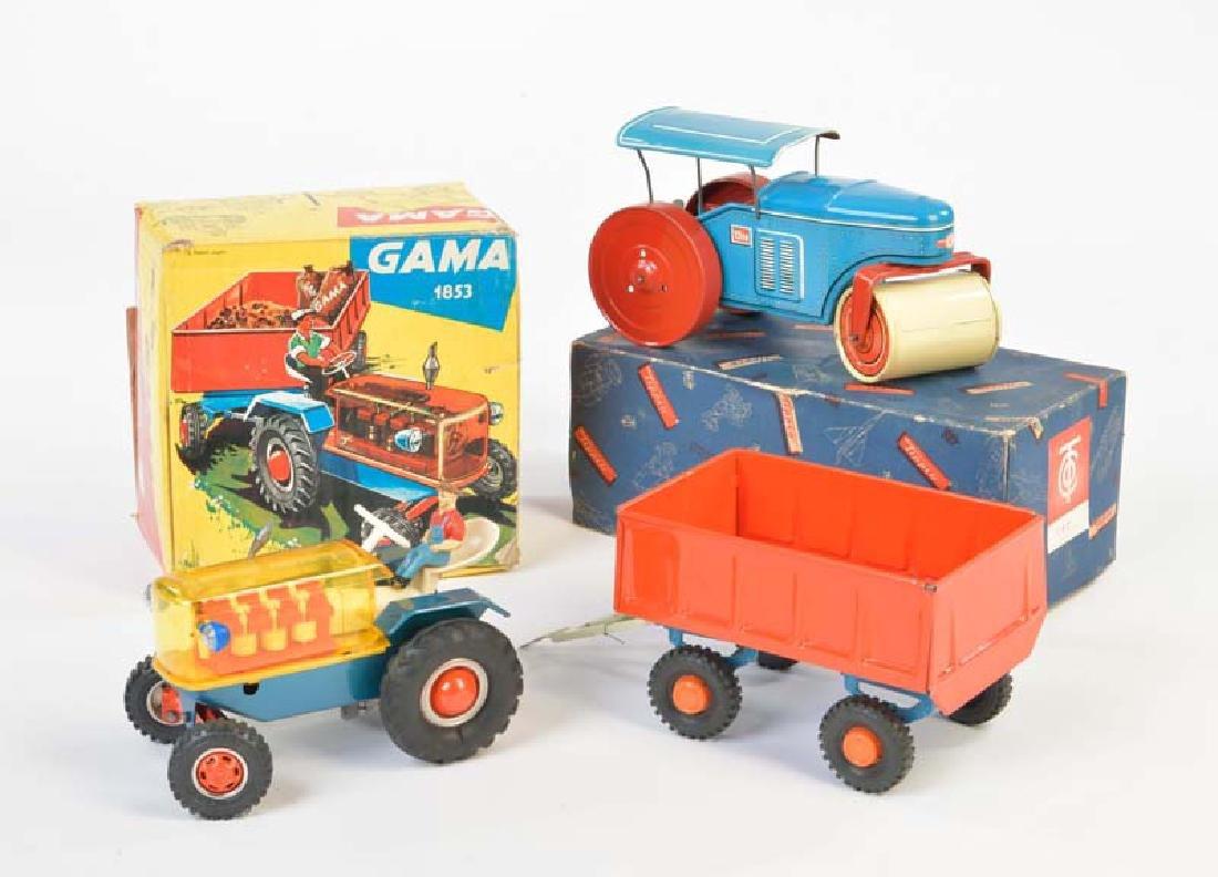Tippco + Gama, Walze + Traktor