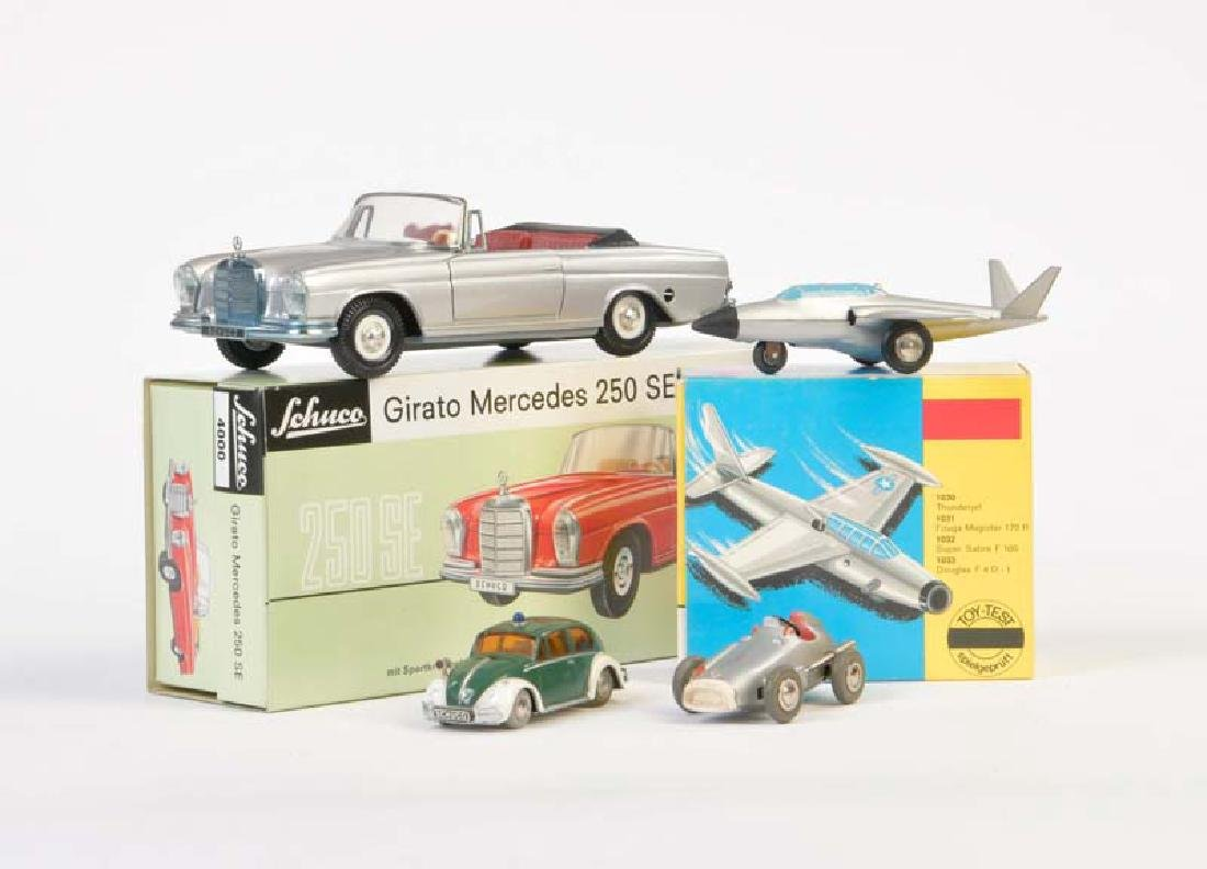 Schuco, Girato Replika, Micro Jet , Micro Racer +