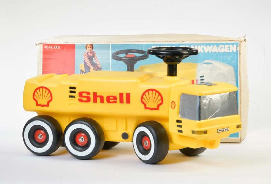 Big, Shell Tankwagen