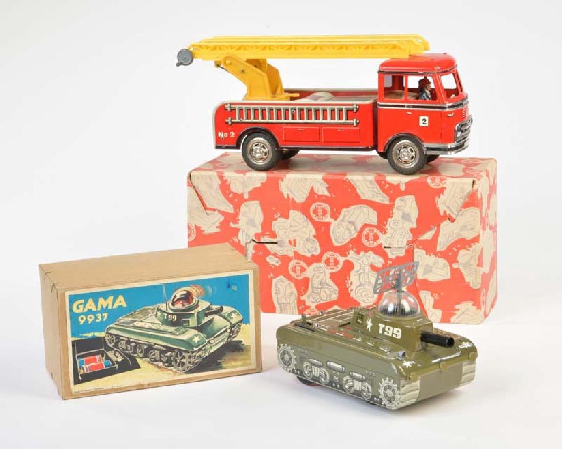 Gama, Goeso: Feuerwehr + Panzer
