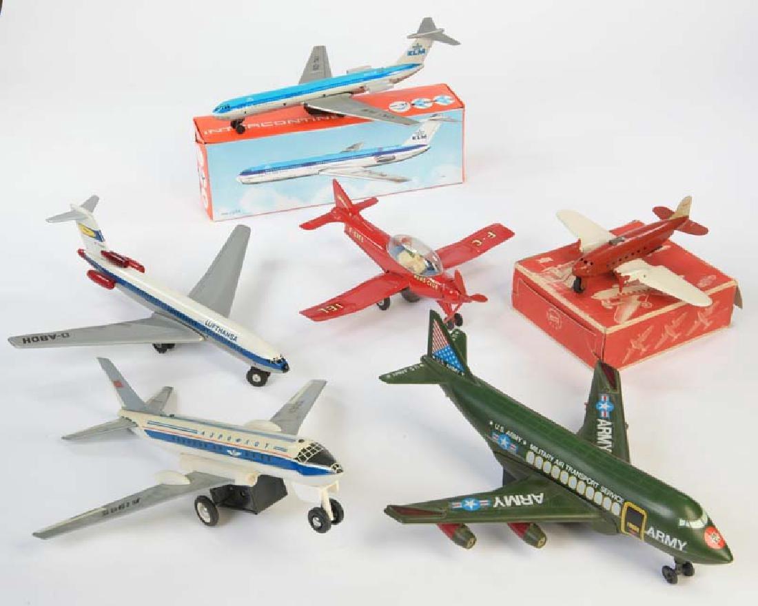 Joustra + Tippco, Konvolut Flugzeuge