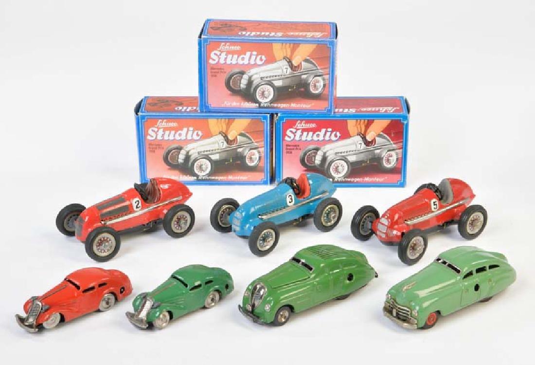 Schuco, 7 Autos