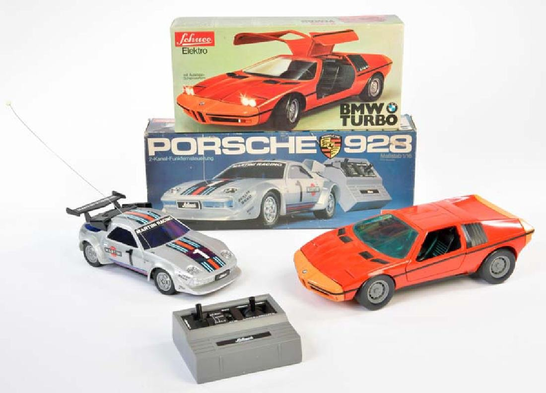 Schuco, BMW + Porsche