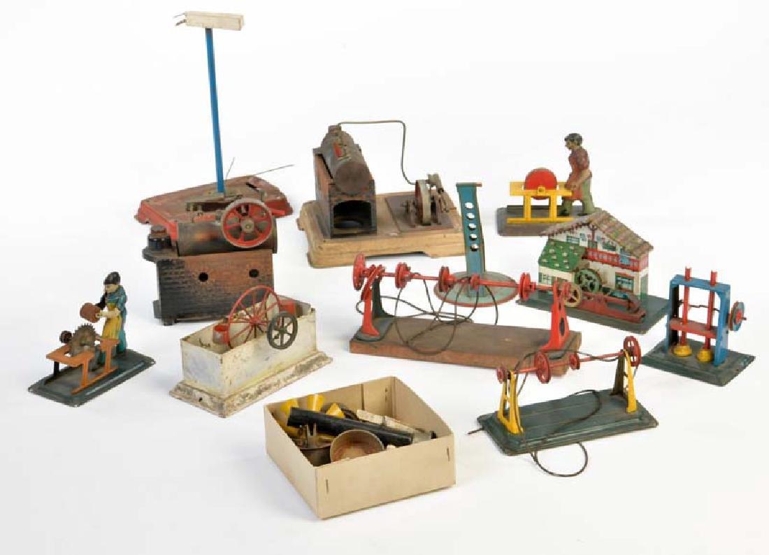Kraus u.a., Konvolut Antriebsmodelle + Dampfmaschinen