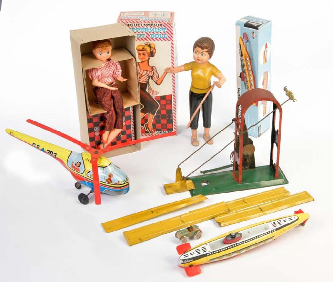 Schuco, u.a., Konvolut Spielzeug