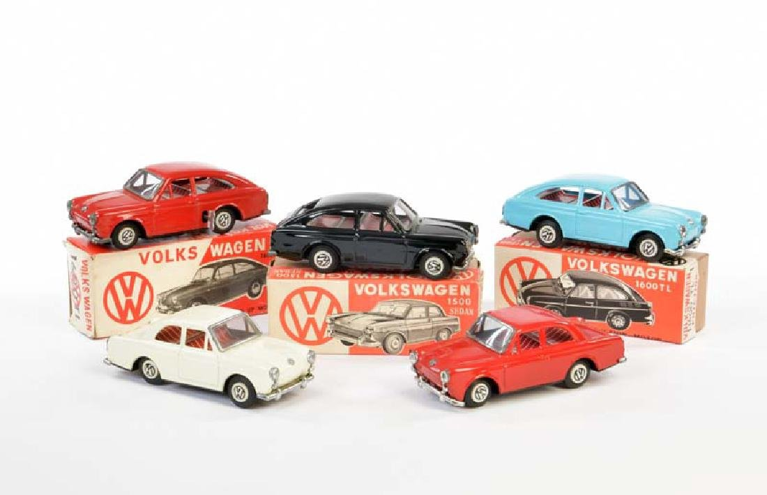 BW/Bandai, 5x VW 1600