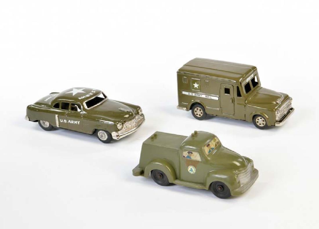 Bell u.a., 3 Militaer Fahrzeuge
