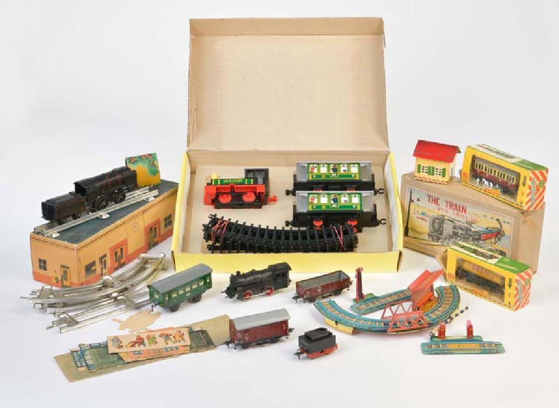 Bub, Fleischmann u.a., Konvolut Eisenbahn