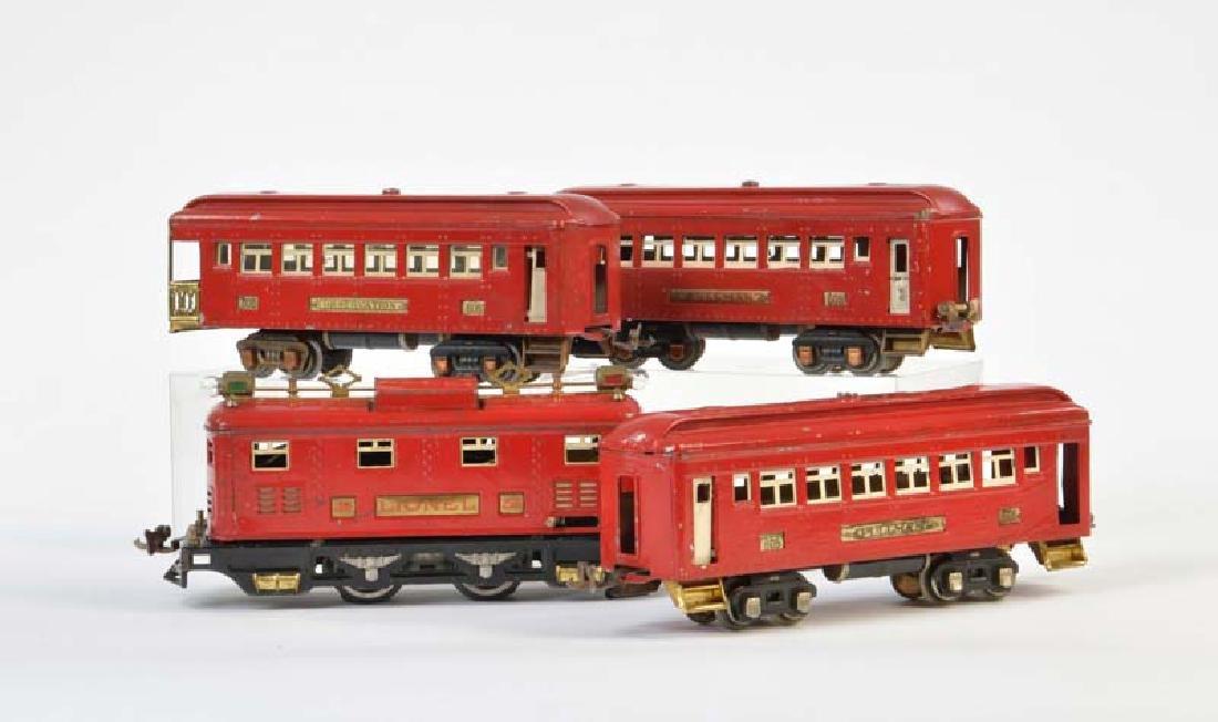 Lionel, Lok + 3 Wagen