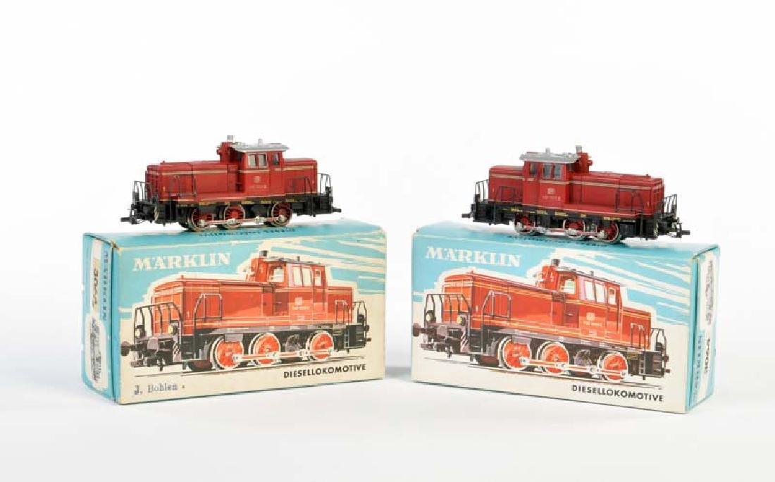 Marklin 2x Diesel Lok 3064
