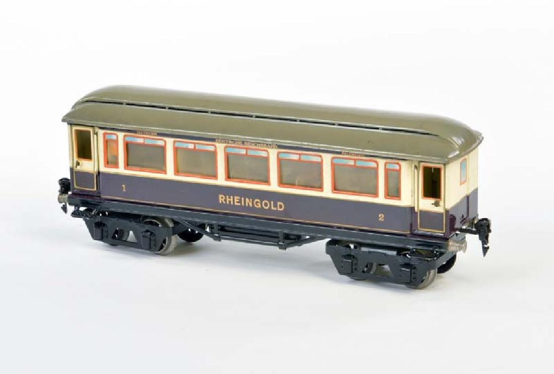 Marklin, Rheingold Wagen