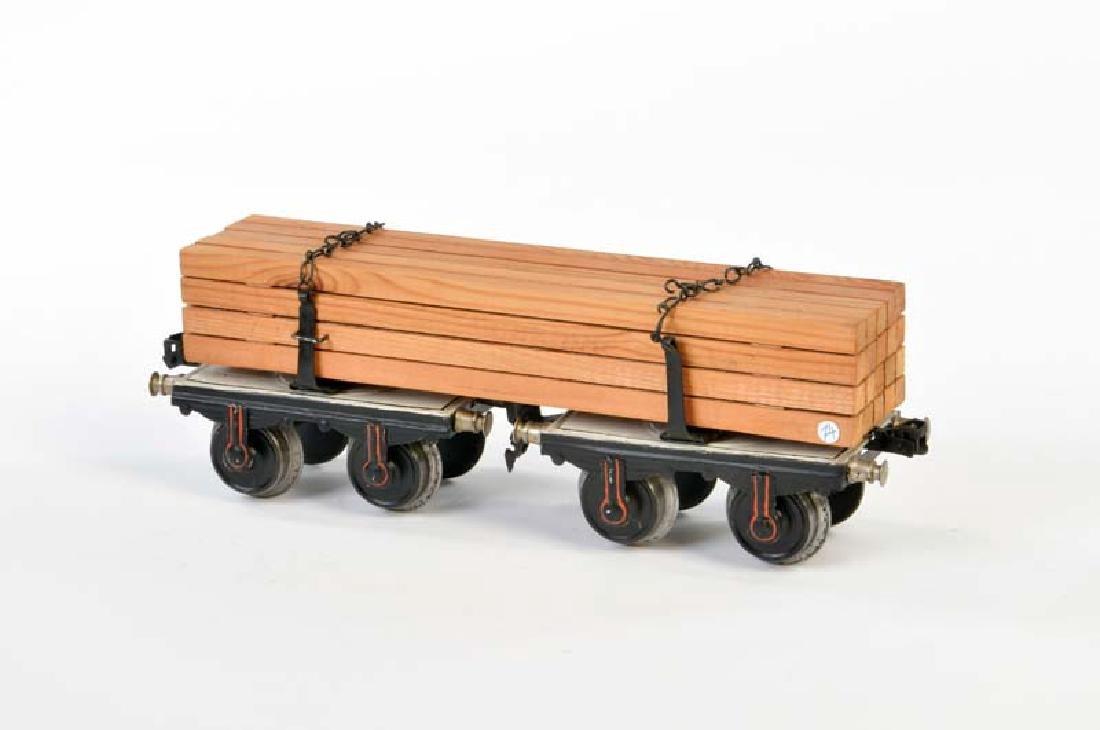 Marklin, Langholzwagen 18146 mit original Holz