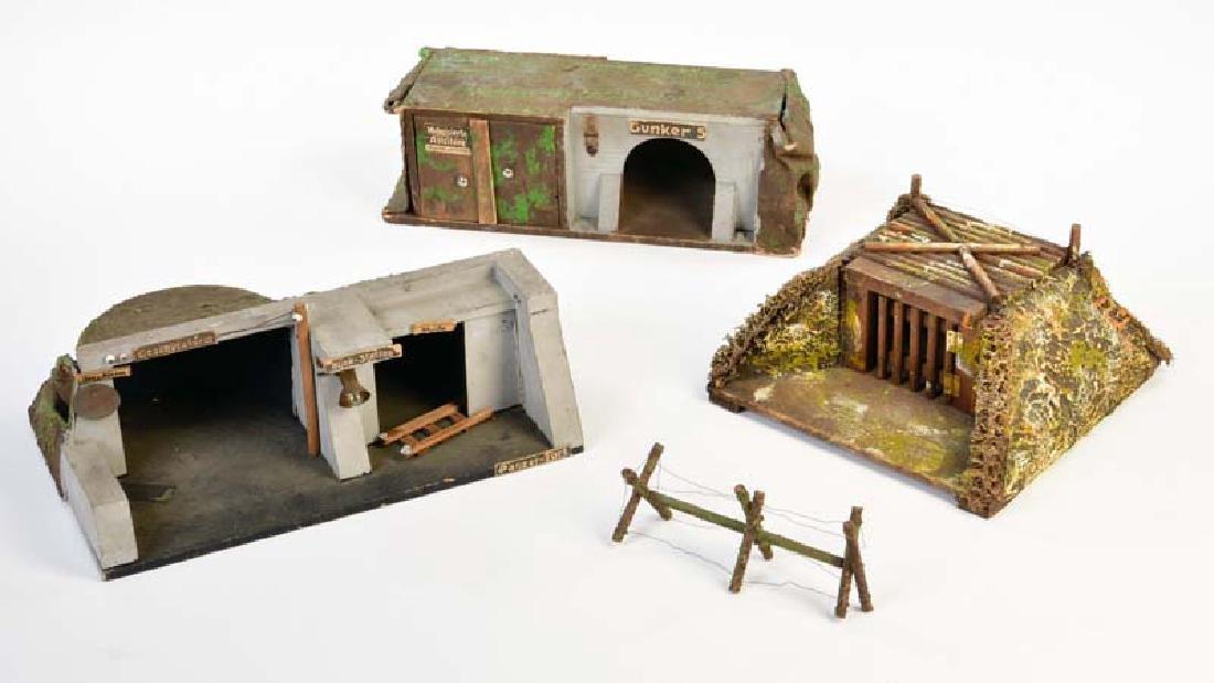 Hausser, 3 Bunker