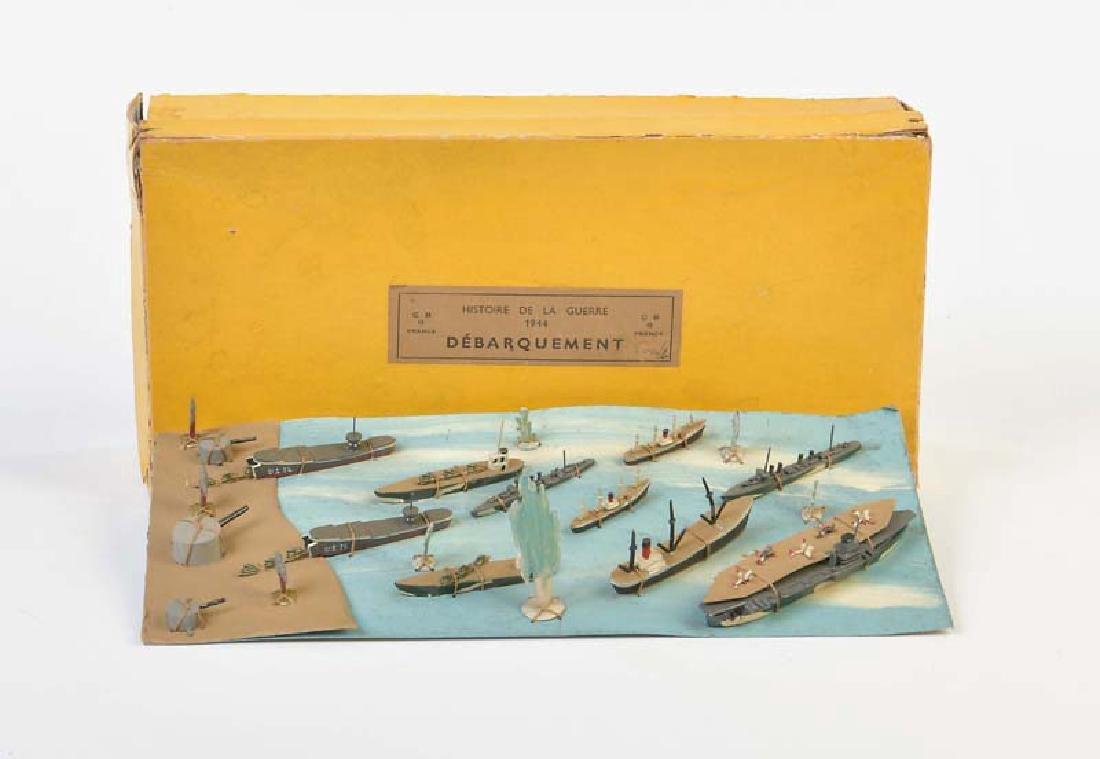 """CBG, Schiffe Display """"Landung in der Normandie"""""""