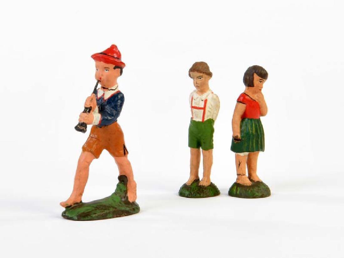 Lineol, Haensel + Gretel und Junge mit Floete