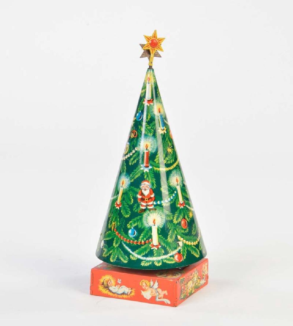 Ruehl, Drehender Weihnachtsbaum