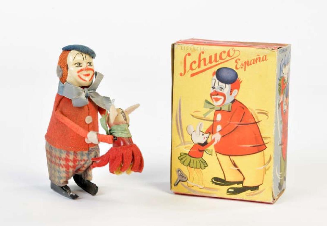 Schuco Lizenz, Clown mit Maus