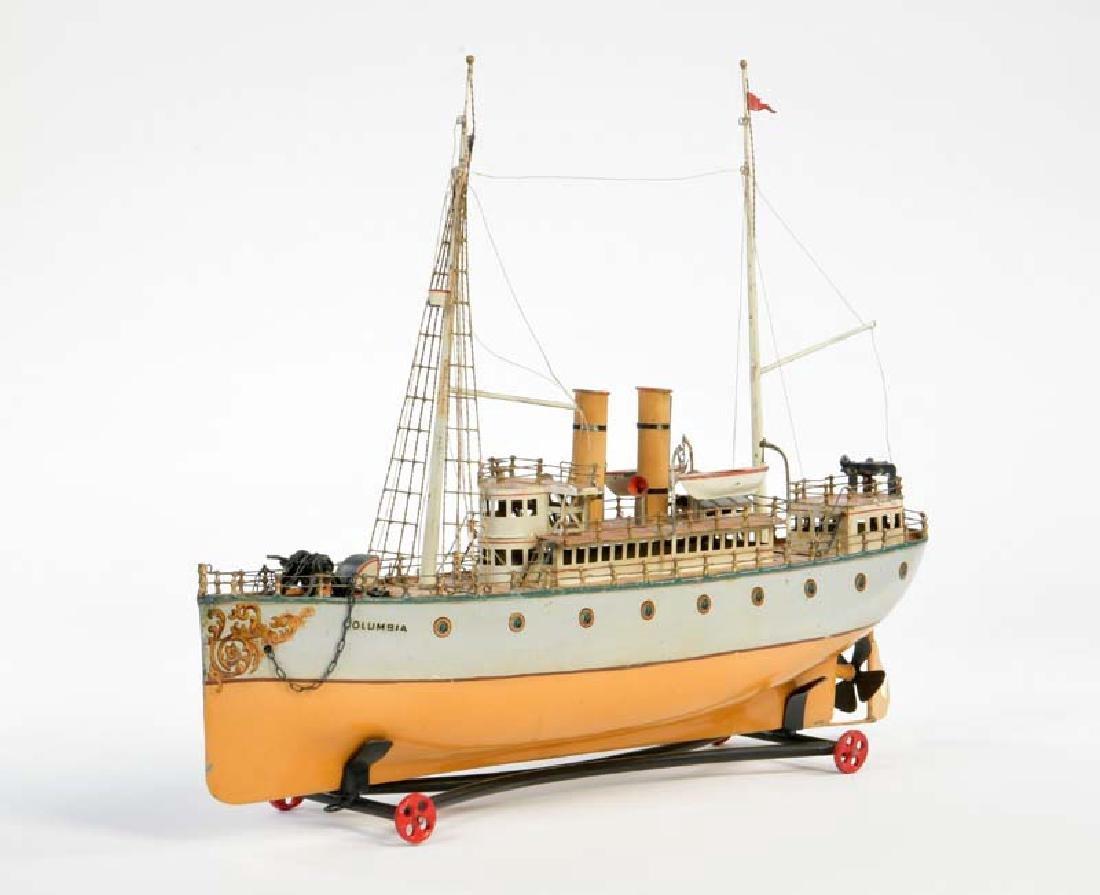 Bing, Dampfschiff