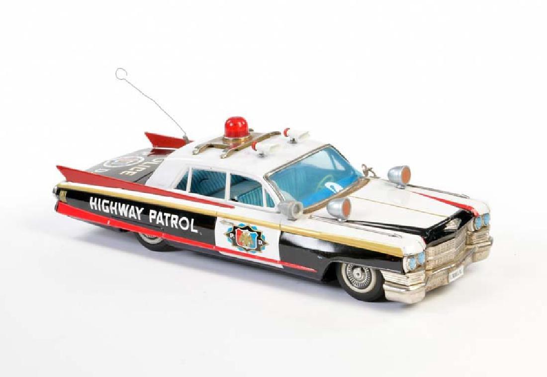 """Bandai, Cadillac """"Highway Patrol"""""""