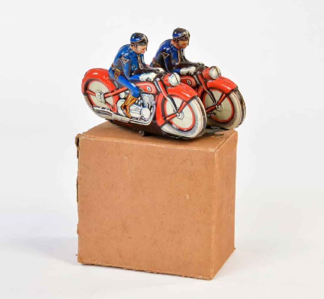 PN,  Motorrad Tandem Polizei