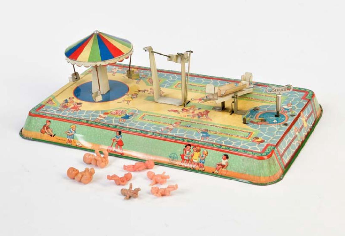 P.R. & Co., Spielplatz