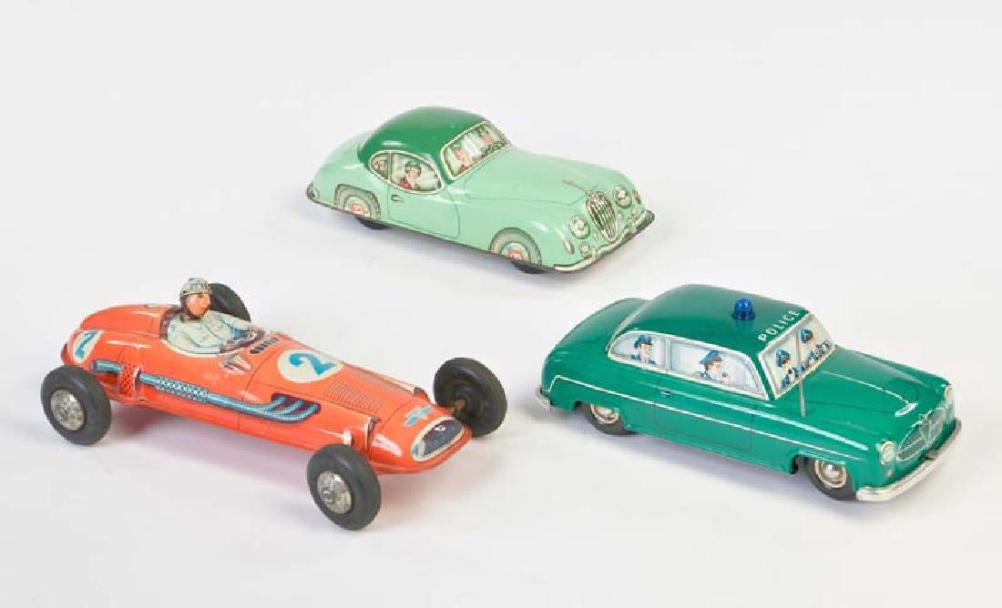 PN u.a., Jaguar, Borgward + Rennwagen