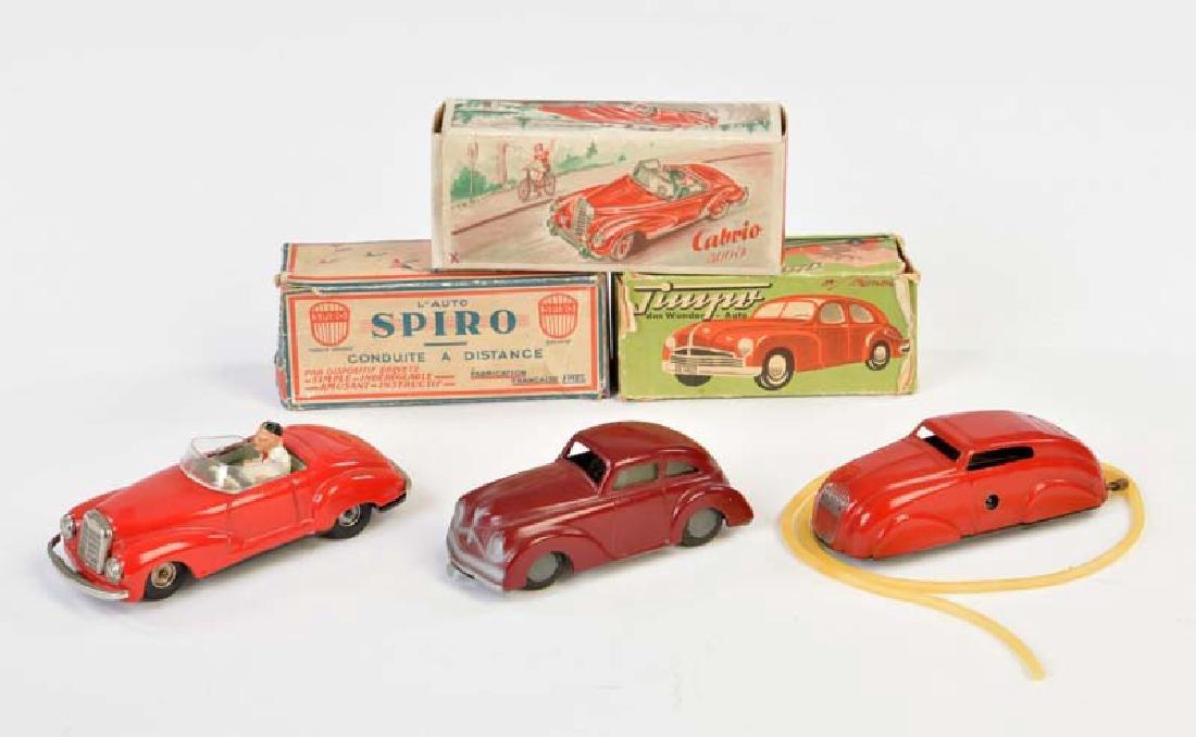Timpo, MS, Spiro: Cabriolet + 2 Limousinen