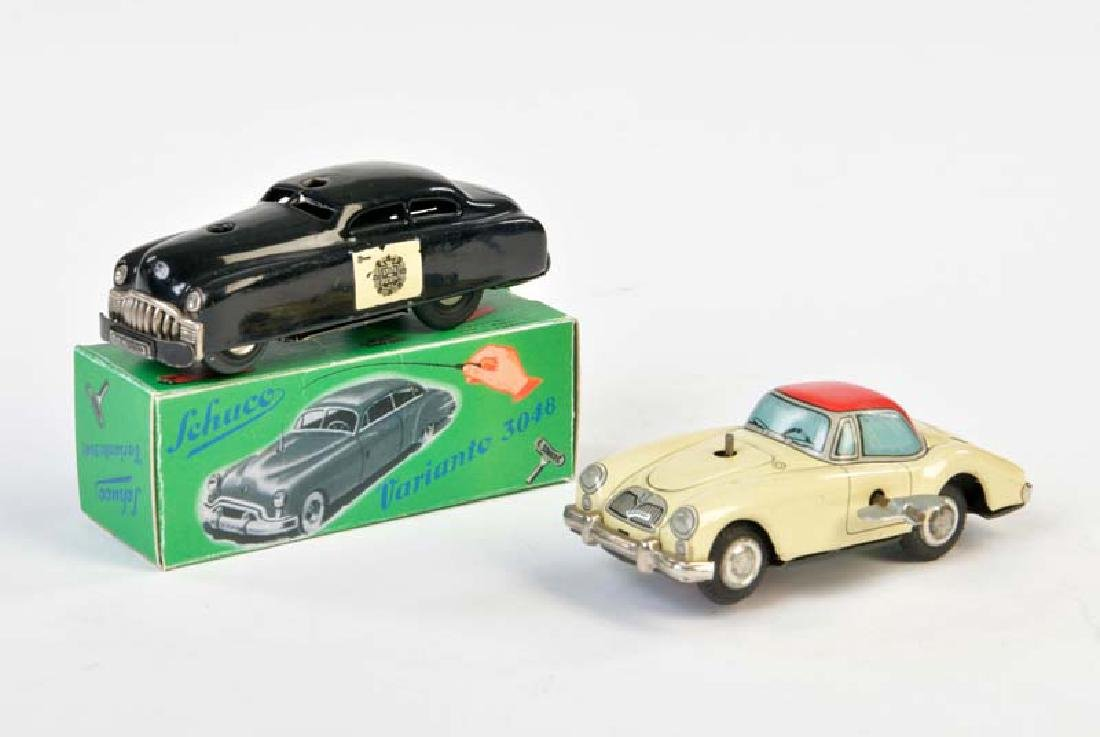 Schuco, Patrol Car + Japan Kopie