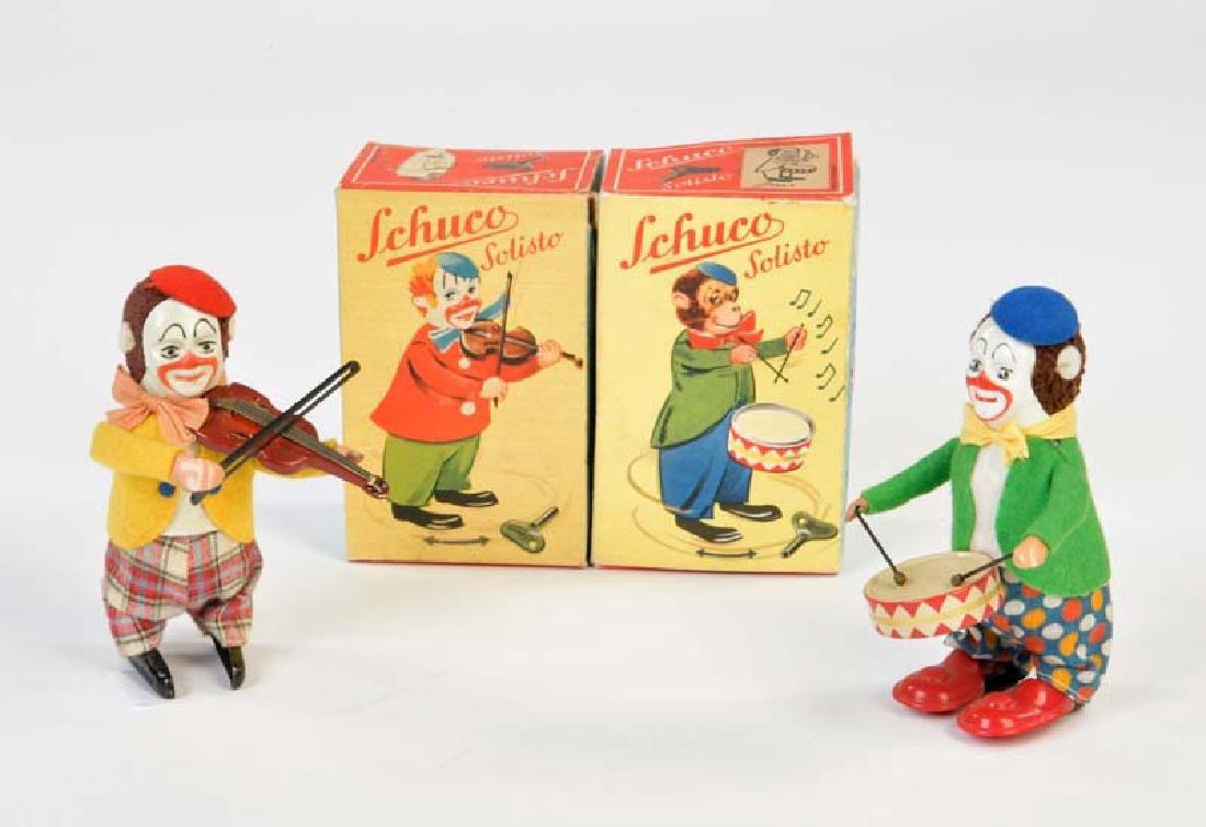 Schuco, 2 Solisto Clowns