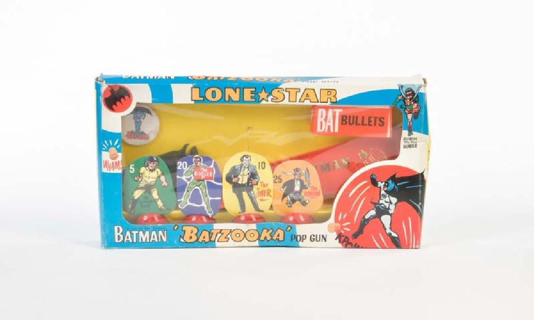 """Lonestar, Batman """"Batzooka"""" Gun von 1966"""