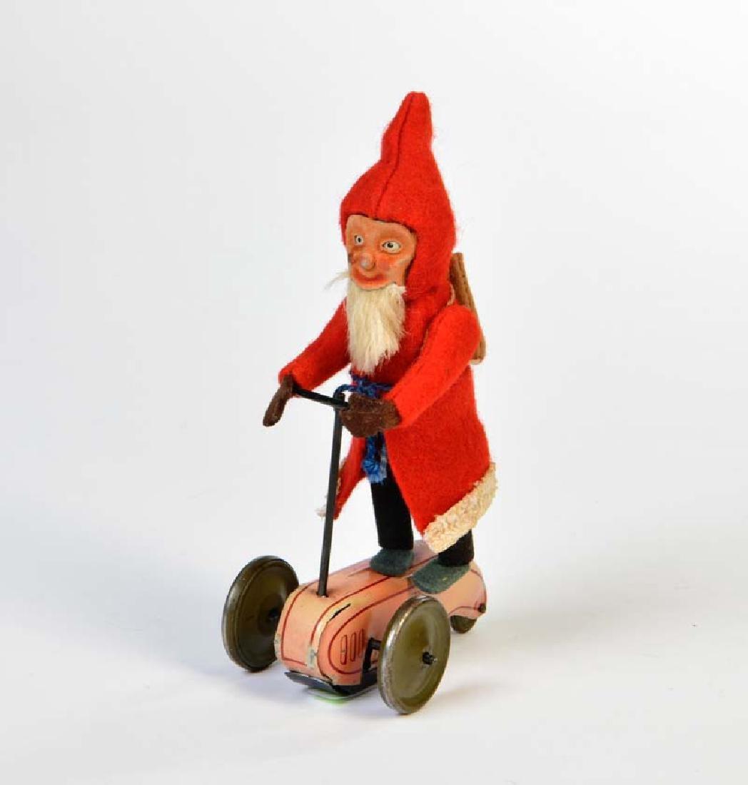 Schuco, Weihnachtsmann auf Scooter