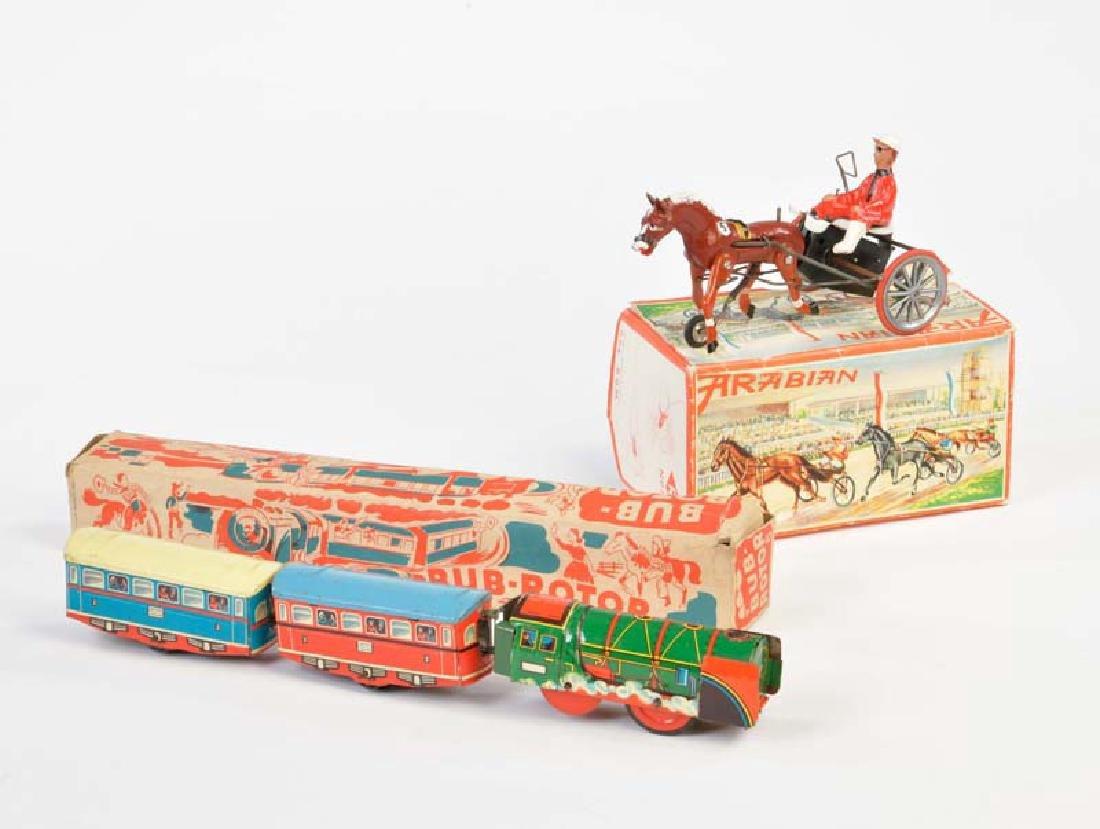 Bub, Ruehl: Rotor Bahn + Arabian Sulky