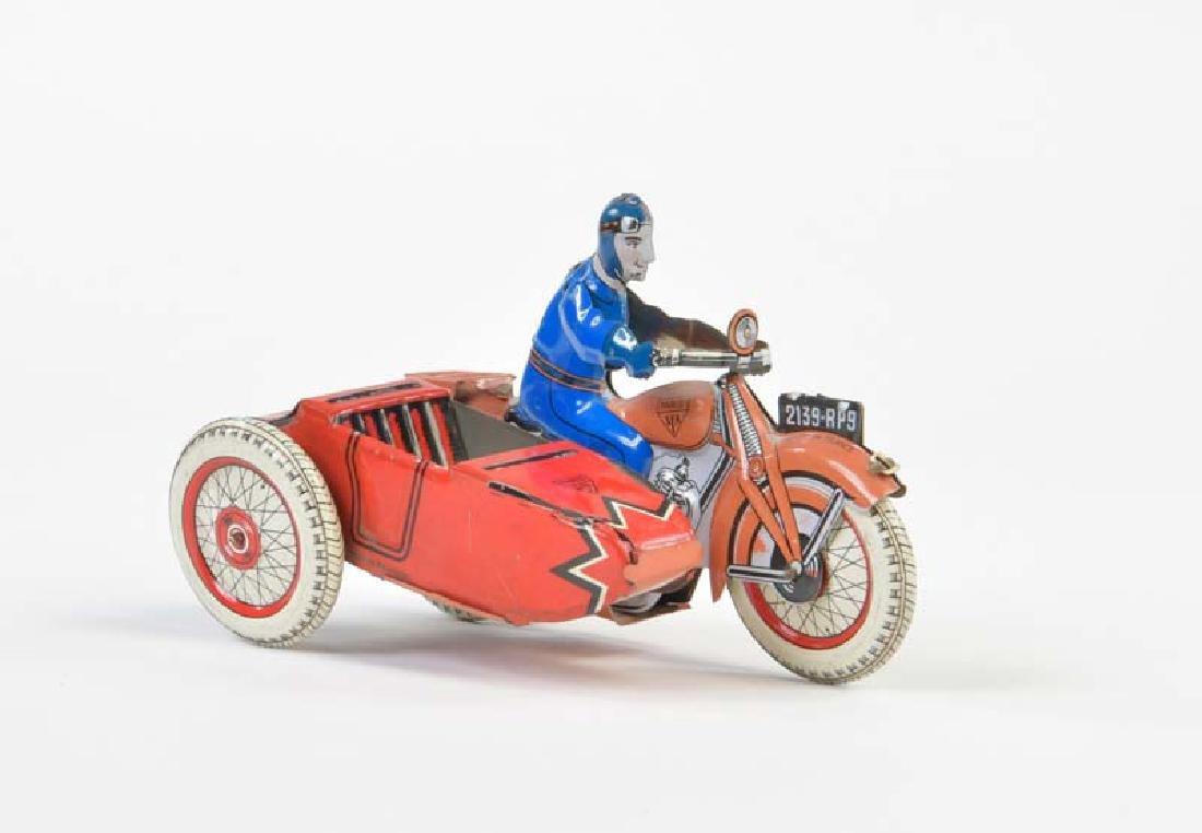 SFA Paris, Beiwagen Motorrad
