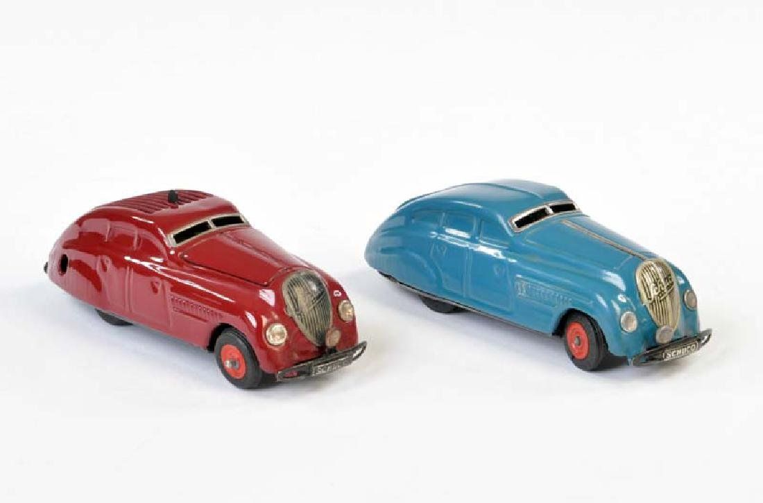 Schuco, Patent Auto 1250 + Kommando Auto