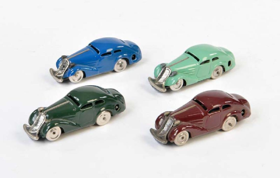 Schuco, 4x Patent Auto