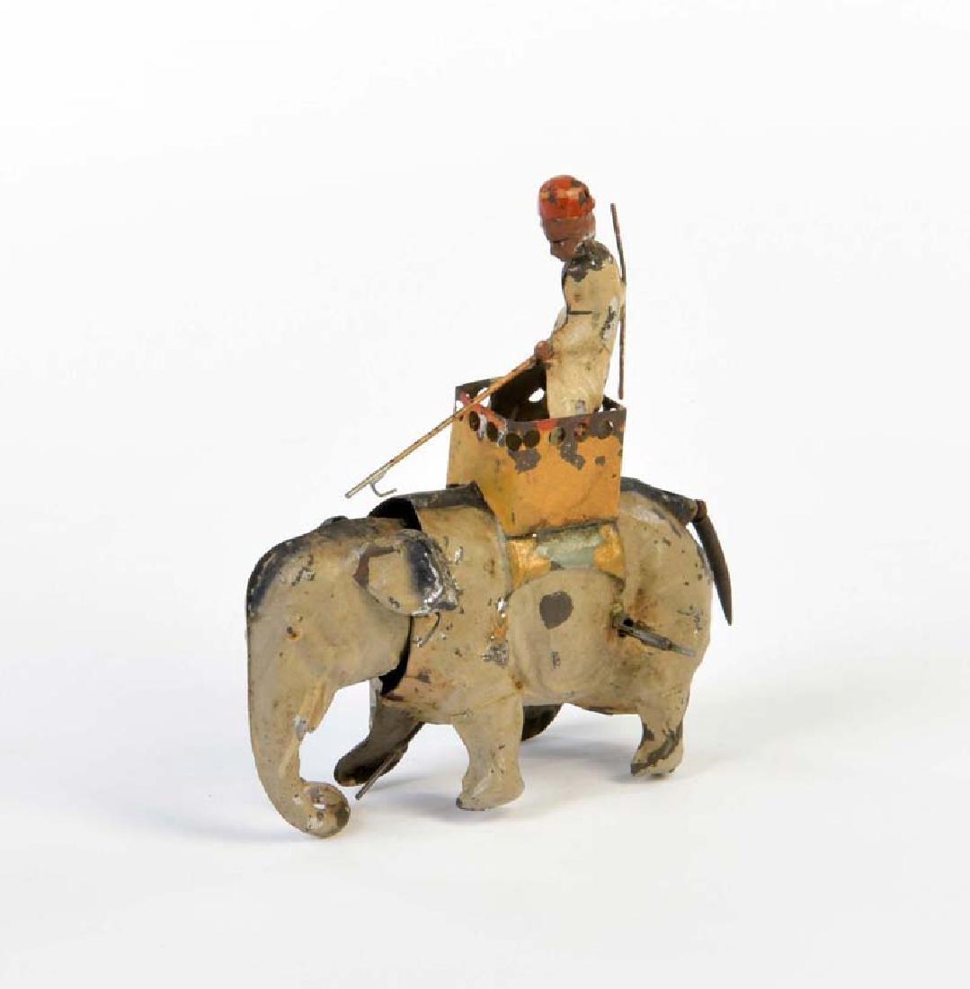 Guenthermann, Elefantenreiter